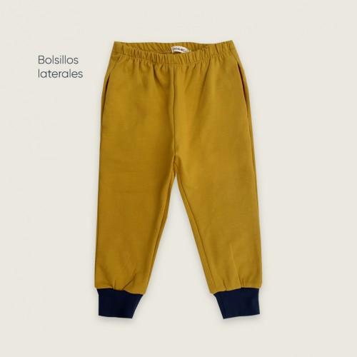 Pantalón mostaza